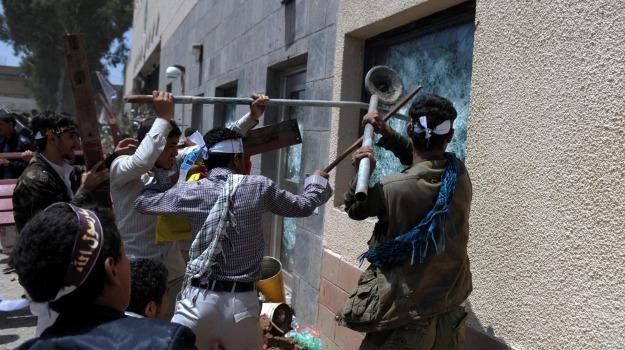 ambasciate, anti-islam, bengasi, film, libia, proteste, sana'a, usa, yemen, Sicilia, Archivio