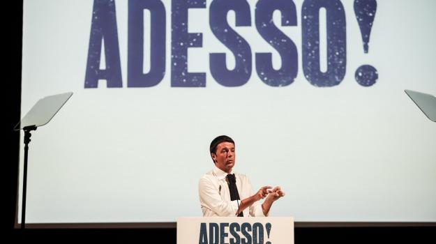 adesso!, candidatura, elezioni 2013, matteo renzi, partito democratico, primarie pd, Sicilia, Cronaca