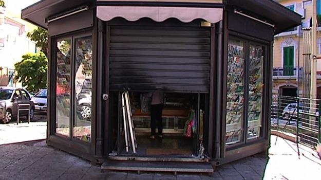 attentato, edicola, via garibaldi, Messina, Archivio