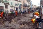 Lipari, le immagini dopo l'alluvione
