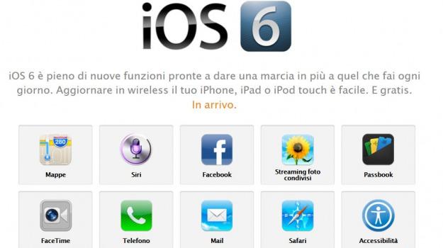 apple, ios 6, ios6, ipad, iphone, Sicilia, Archivio, Cronaca
