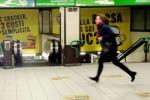 Tamponamento in metro 10 passeggeri feriti