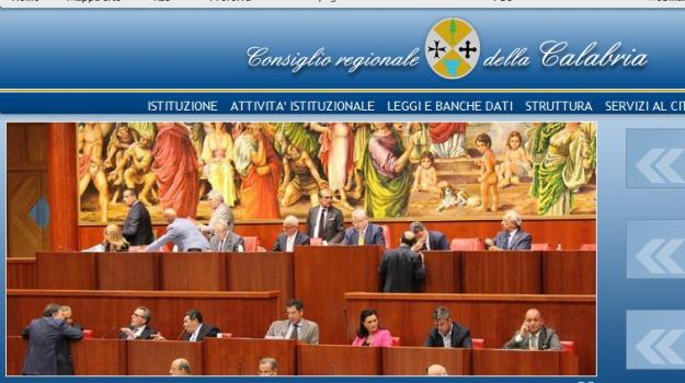 consiglio regionale della calabria, gruppi consiliari, operazione trasparenza, rendiconti, sito, Calabria, Archivio