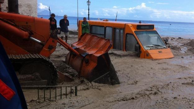 30 milioni, alluvione, danni, eolie, lipari, Sicilia, Archivio