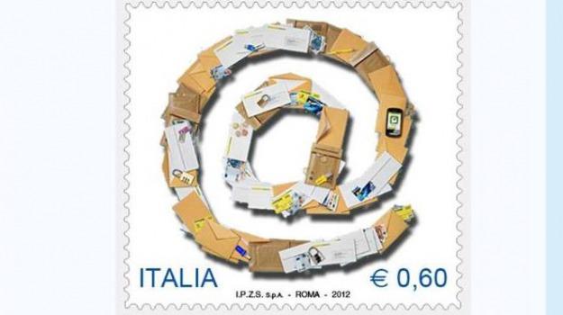 poste, simbolo @, Sicilia, Archivio, Cronaca