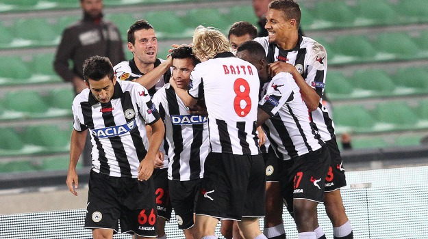 europa league, udinese anzhi, Sicilia, Sport