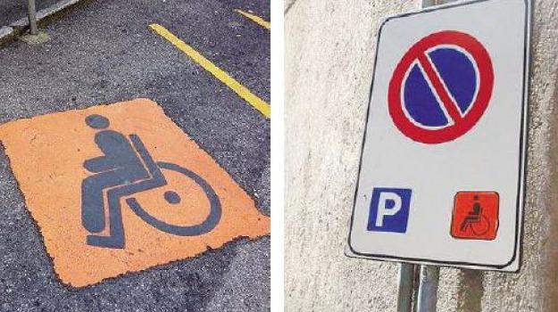 parcheggio disabili, Messina, Archivio