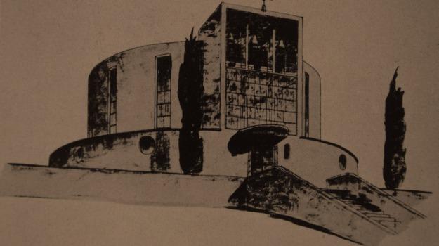chiese, ettore sottsass, messina, progetto vincitore, Messina, Archivio