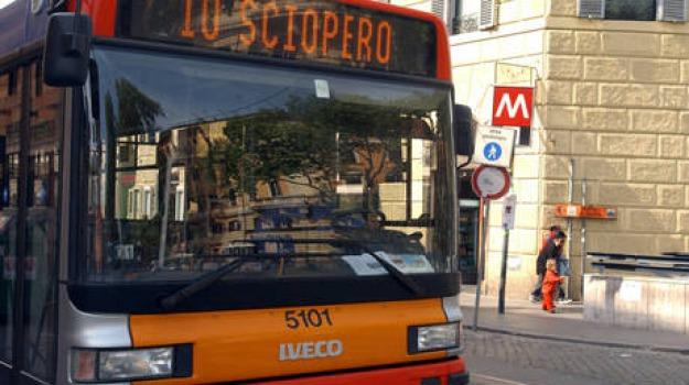 sciopero trasporti, Sicilia, Archivio, Cronaca