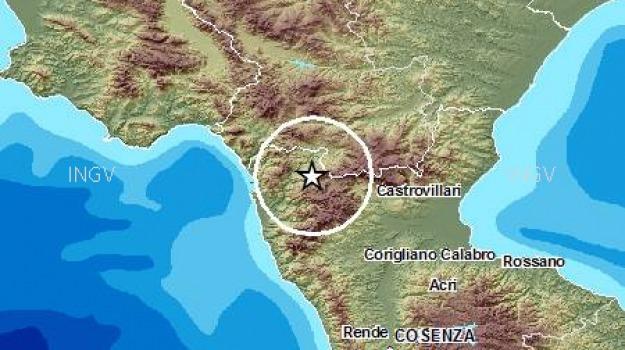 mormanno, pollino, sciame sismico, sindaco, Calabria, Archivio