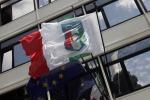 Blitz nella sede del Napoli calcio