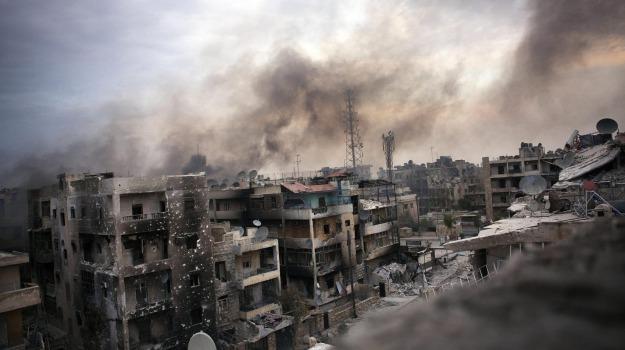 conflitto siria turchia, fotoreporter ferito, somba siria, Sicilia, Mondo