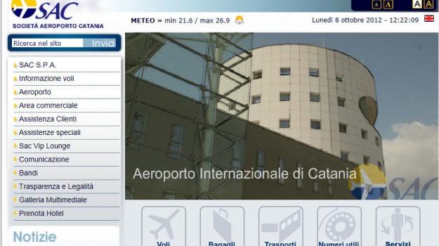 aeroporto, alitalia, catania, chiusura, fontanarossa, meridiana, sigonella, Sicilia, Archivio