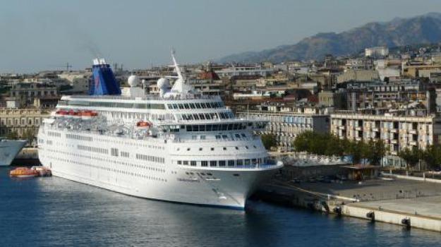 autorità portuale, daf, nave crociera, tremestieri, Messina, Archivio