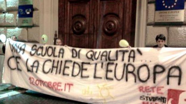 parlamento europeo, roma, studenti, Sicilia, Archivio, Cronaca