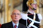 """Napolitano """"Insinuati sospetti su di me"""""""