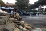 """Maltempo, i romani fanno le """"barricate"""""""