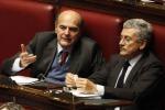 Bersani: D'Alema non lo ricandido
