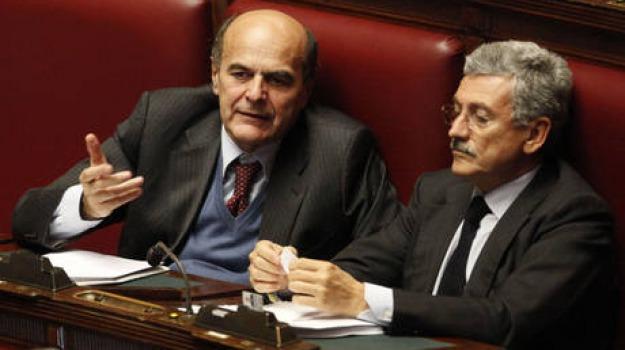 bersani, candidatura, d'alema, mandati, Sicilia, Archivio, Cronaca