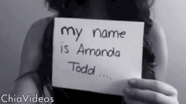 amanda todd, bullo, canada, cyber, ragazzina, suicida, Sicilia, Archivio