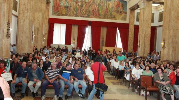 croce, dipendenti comunali, Messina, Archivio