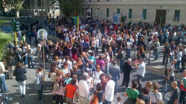 flash mob, ministero, professori, Sicilia, Archivio, Cronaca