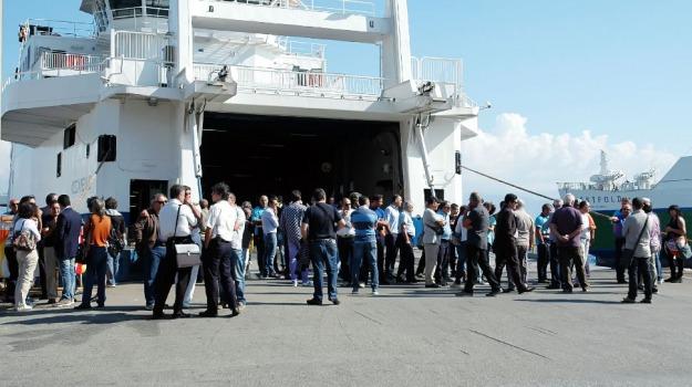sciopero caronte, Messina, Calabria, Archivio