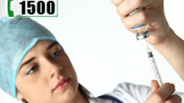 influenza, ministero, numero verde, vaccini, Sicilia, Archivio, Cronaca