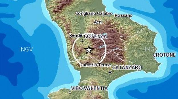 cosenza, sila, terremoti, Sicilia, Archivio