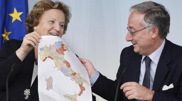 51 province, città metropolitane, italia, Sicilia, Archivio, Cronaca