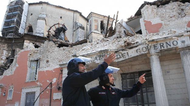 l'aquila, terremoto, Sicilia, Archivio, Cronaca