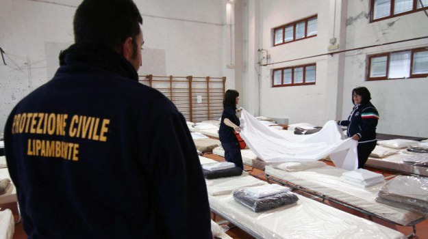mormanno, protezione civile, terremoto pollino, Calabria, Archivio