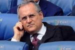 Calcio: caso tamponi Lazio, due mesi di inibizione per Lotito