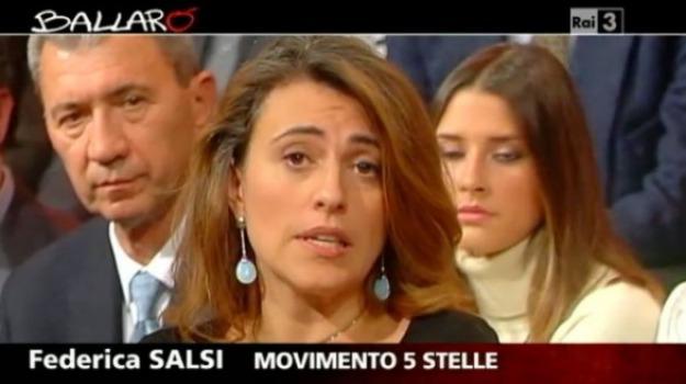 federica salsi, grillo, m5s, Sicilia, Archivio, Cronaca