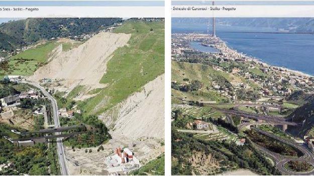 ganzirri, ponte sullo stretto, Messina, Archivio