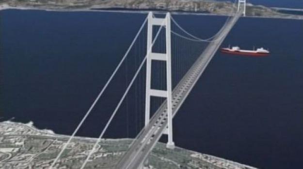ponte sullo stretto, Messina, Calabria, Archivio