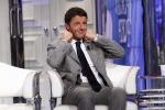 """Renzi """"Fermare gli uomini non le opere"""""""