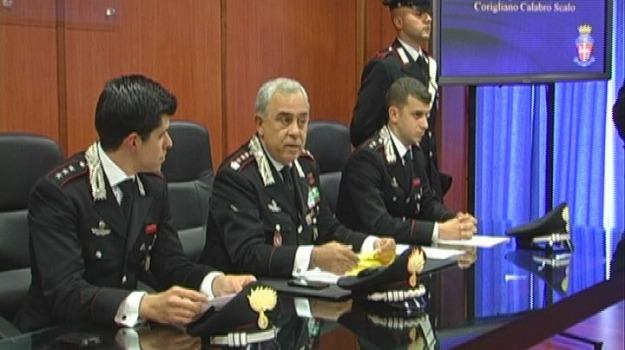 carabinieri corigliano, cc cosenza, compro oro, maria vallefuoco, operazione bazar, ricettazione, Cosenza, Calabria, Archivio