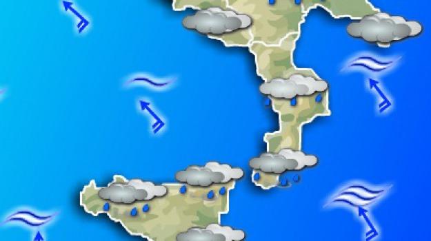 neve, pioggia, Calabria, Archivio