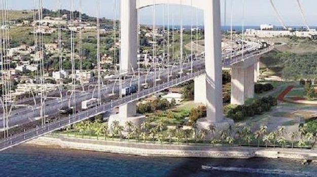 angelino alfano, ponte sullo stretto, Messina, Archivio, Cronaca