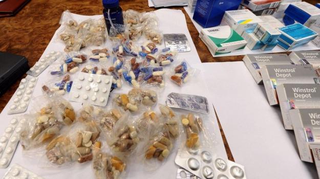 anabolizzanti, doping, pillole, pozzallo, ragusa, sequestrate, Sicilia, Archivio