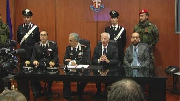 carabinieri, conferenza stampa, lanzino, Cosenza, Calabria, Archivio