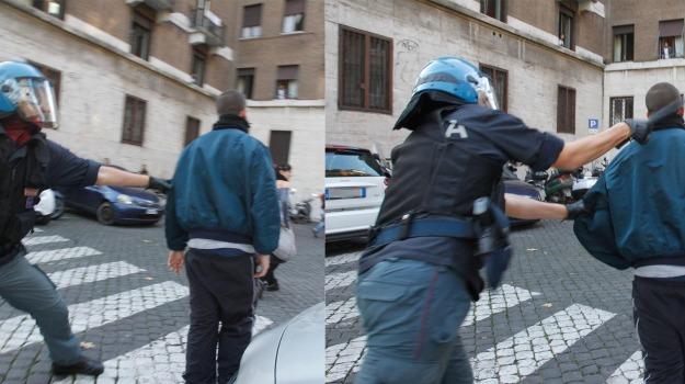 sciopero, scontri, video, violenti, Sicilia, Archivio, Cronaca