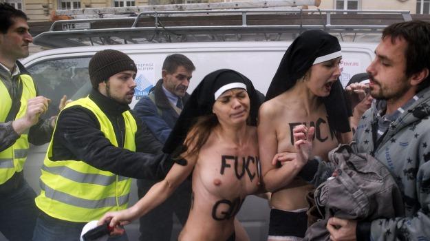 anti-gay, corteo, francia, scontri, Sicilia, Archivio