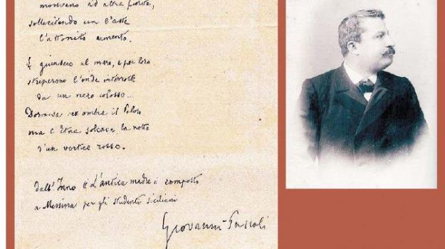 pascoli, Messina, Archivio, Cultura
