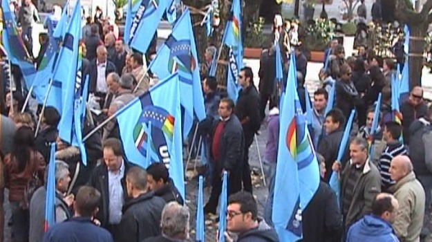 cosenza, sciopero, uil, Cosenza, Calabria, Archivio