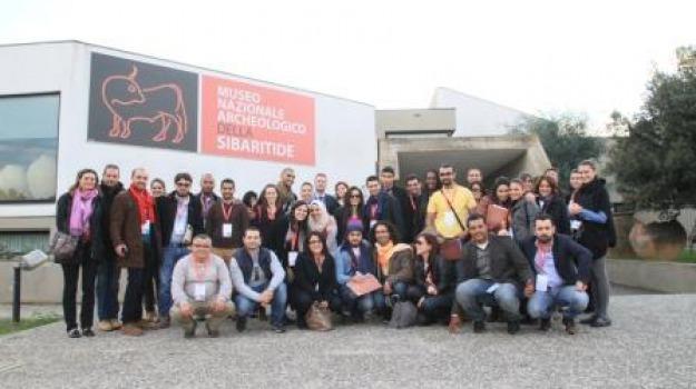 ecole d'hiver, euromed meeting, otto torri sullo jonio, rossano, Calabria, Archivio