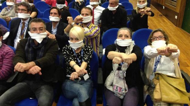 giornalisti, sciopero, Sicilia, Archivio, Cronaca