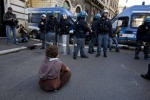 Proteste finite solo cortei pacifici