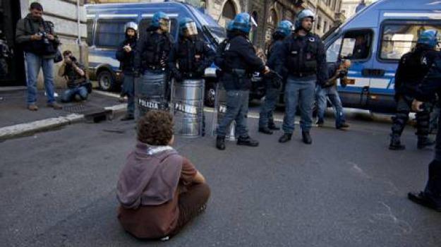 protesta roma, Sicilia, Archivio, Cronaca